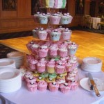 Pastels Wedding Cupcake Tower