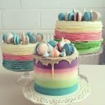 Buttercream Ombre Cakes