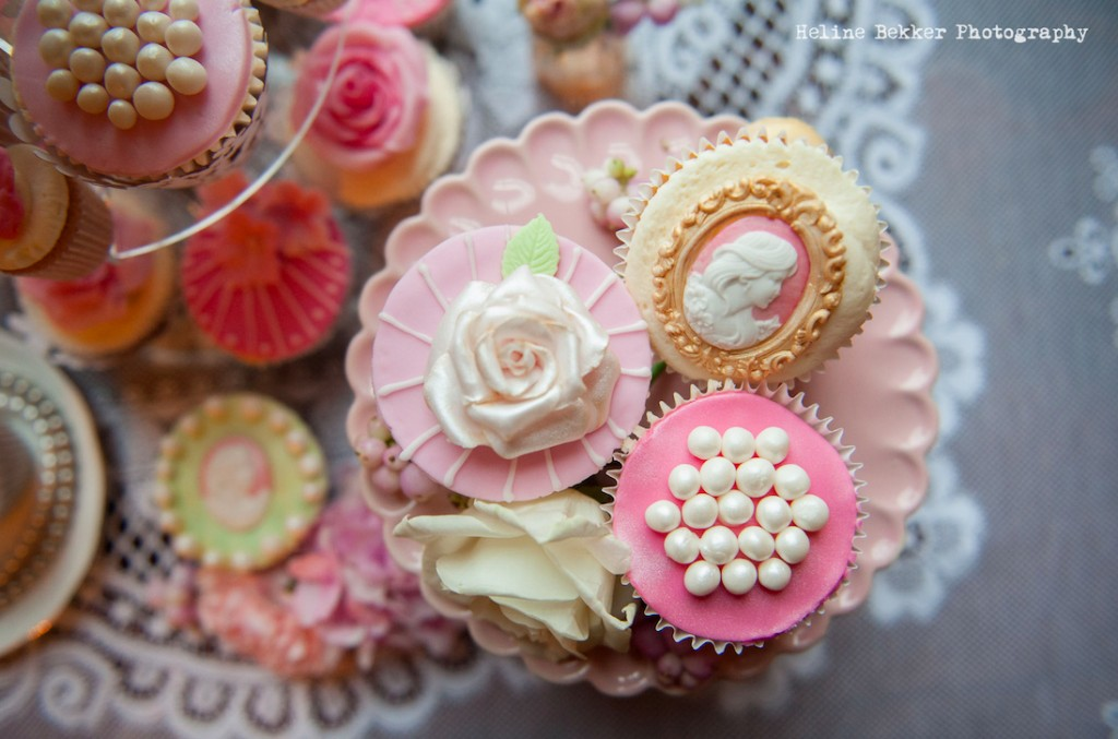 Crumbs Couture Victorian Themed Cupcakes