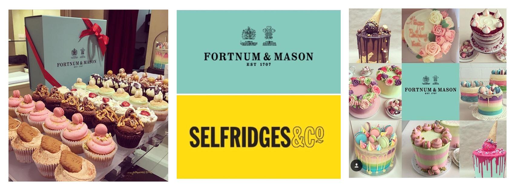 Cupcakes London Crumbs Couture - Selfridges Wedding Cakes