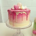 ganache drip layer cake