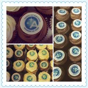 corporate cupcakes london