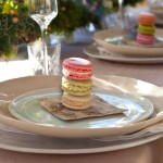 Wedding Table Macarons